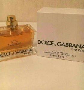 🙋💄🎁📩✅Тестер DOLCE&GABBANA the one , 75ml.