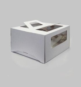 Упаковка для торта с окном