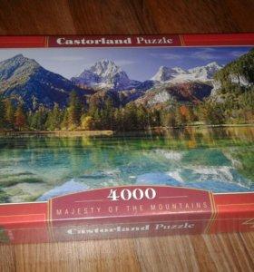 Новый Castorland Puzzle 4000 - на подарок