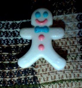 Мыло печенье.
