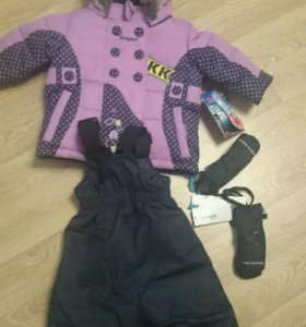 Новый зимний костюм Густи.С бирками Gusti.р 80