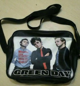 Сумка с группой Green Day