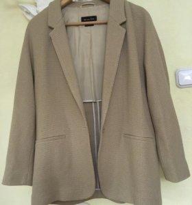 Новый хлопковый пиджак Massimo Dutti