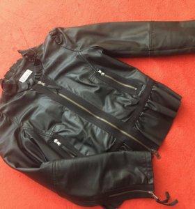 Кожаная куртка Valentino оригинал