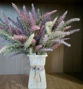 Искуственные цветы лаванда букет