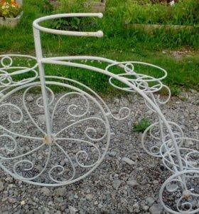 Оригинальная подставка для цветов.(велосипед)