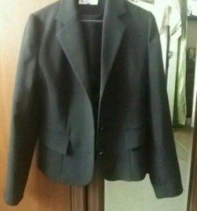 Пиджак чёрный фирма NATANO
