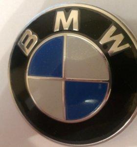 Значки капота и багажника bmw 3 Логтип бмв 3
