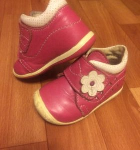 Ботинки для девочки 19 размер 12 см кожа