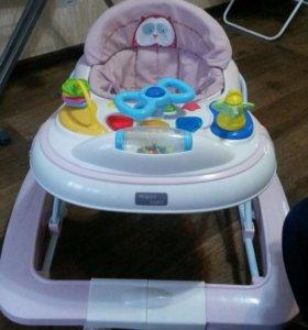 Ходунки-качалка happy baby