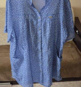 Продам новую рубашку, размер 58, 60