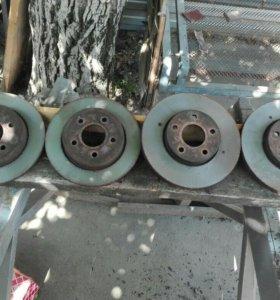 Тормозные диски с форд фокус 2