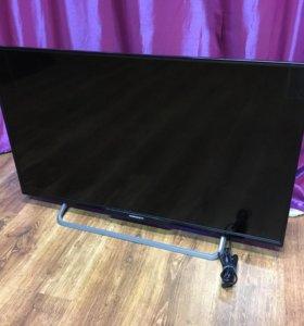 """жк телевизор gorizont 43""""(110 см)"""
