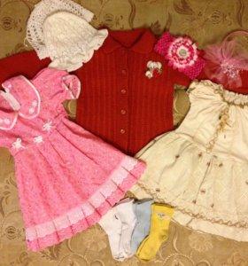 Пакет вещей для девочки 2,5-3 года