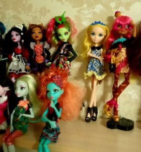 Куколки Monster High, Ever After High