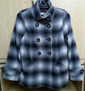Пальто, б/у, р.50