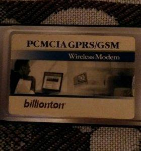 Модем PCMCIA GPRS/GSM
