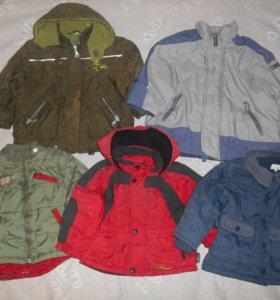 Куртки на мальчика на 1,5-2 года,3 года и 5 лет