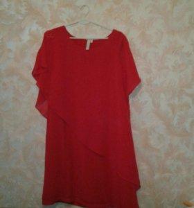 Платье легкое шифоновое новое