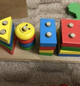 Деревянная игрушка Геометрик