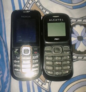 Телефоны Nokia и Alcatel