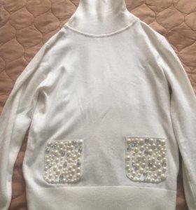 свитер водолазка, 140
