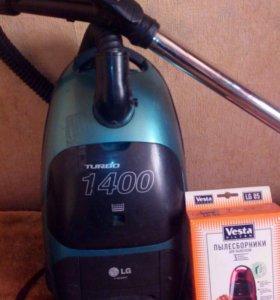 Пылесос Lg 1400 turbo