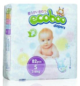 Подгузники и трусики Ecoboo