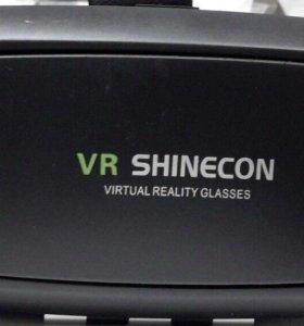 Очки виртуальной реальности Vr Shinecon + геймпад