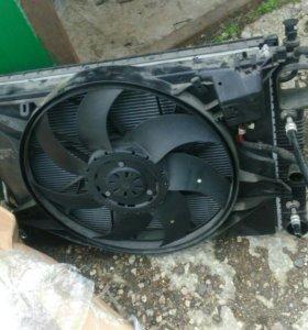 Мерседес w221 s221 касет радиатор