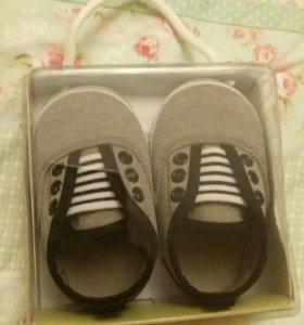 Детская обувь новый