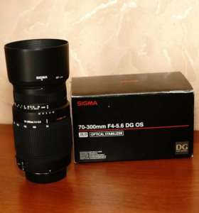 Объектив Sigma 70-300mm F4-5.6 DG OS(Nikon)