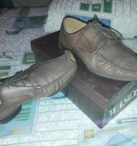 Кожаные туфли wasco