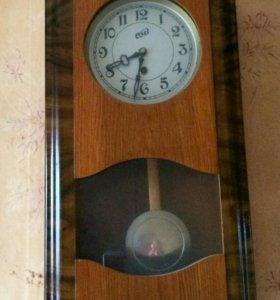 Часы настенные с маятником очз, старинные
