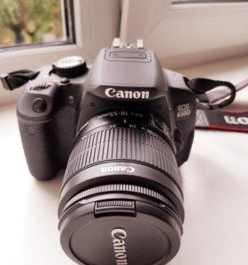 Зеркальная камера Canon EOS 650 D