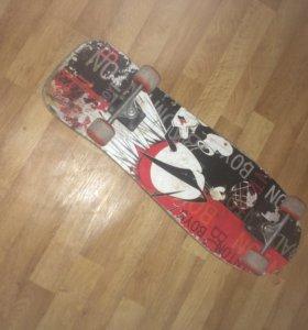 Лонгбординг-длинный скейт