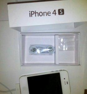 Iphone 4 s 16 GB white