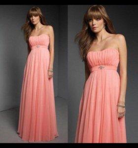Вечернее платье впол