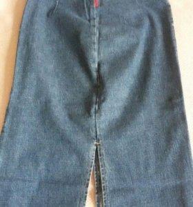 Юбка джинсовая XS
