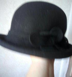Фетровая черная Жен.шляпа