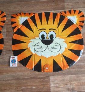 Большие Шары фольгированные Тигр