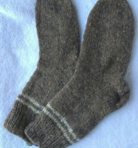Шерстяные носки из овечьей шерсти