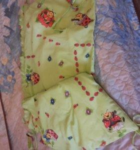 Бортохранник в кроватку