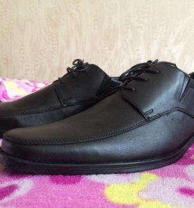 Мужские туфли (натуральная кожа)