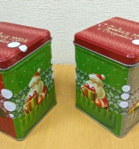 Жестяные коробочки