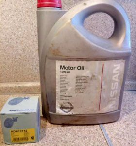 Моторное масло и Масляный фильтр ADN12112