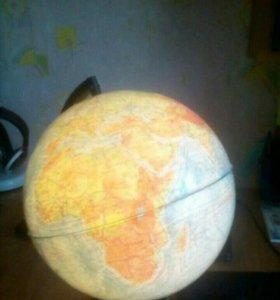 Светящийся глобус