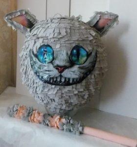 пиньята чиширский кот