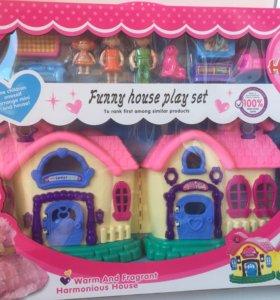 Кукольный дом новый