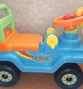 Машинка-толокар